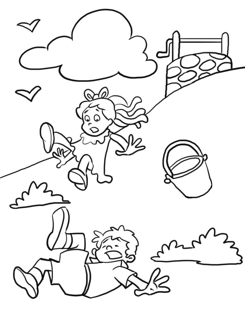 Free Printable Nursery Rhymes Coloring Pages For Kids - Free Printable Nursery Rhymes