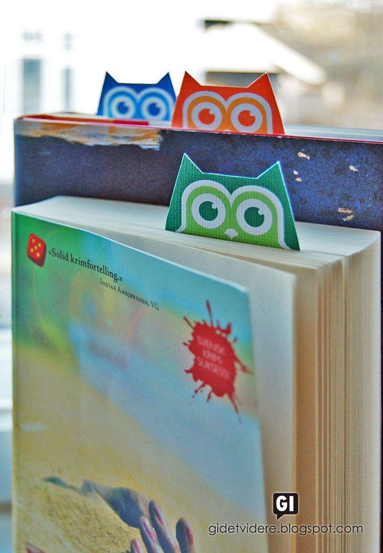 Free Printable Owl Bookmarks   Printables   Pinterest   Bookmarks - Free Printable Owl Bookmarks