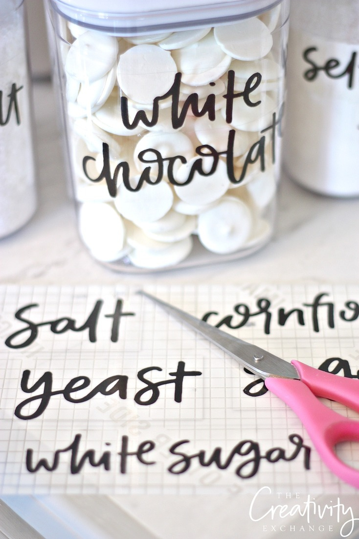 Free Printable Pantry Labels: Hand Lettered - Free Printable Pantry Labels