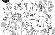 Free Printable Paper Dolls Black And White