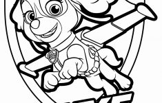 Free Printable Paw Patrol Coloring Pages