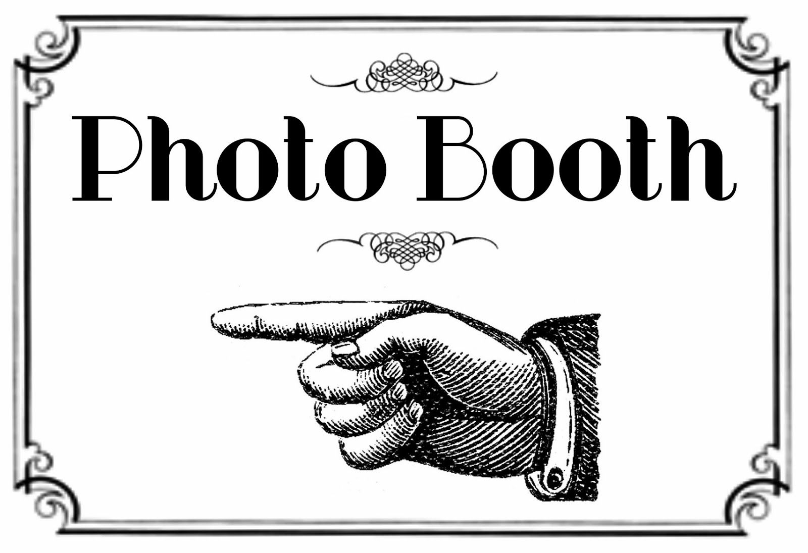 Free Printable Photo Booth Sign | Here Is The Printable For The - Free Printable Photo Booth Sign