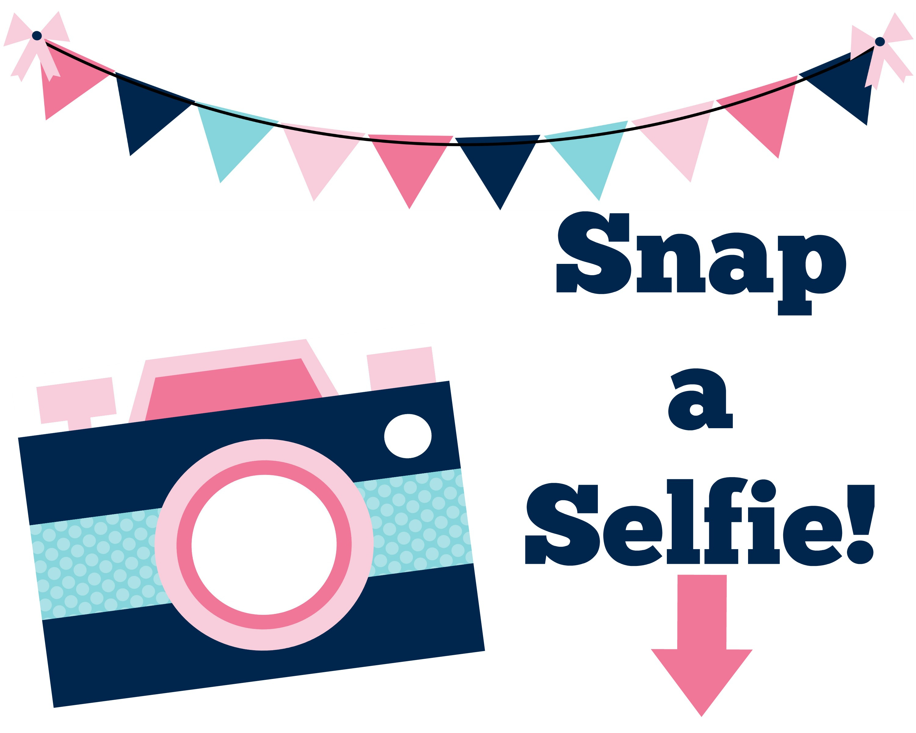 Free Printable Photo Booth Sign | Mama Cheaps - Selfie Station Free Printable
