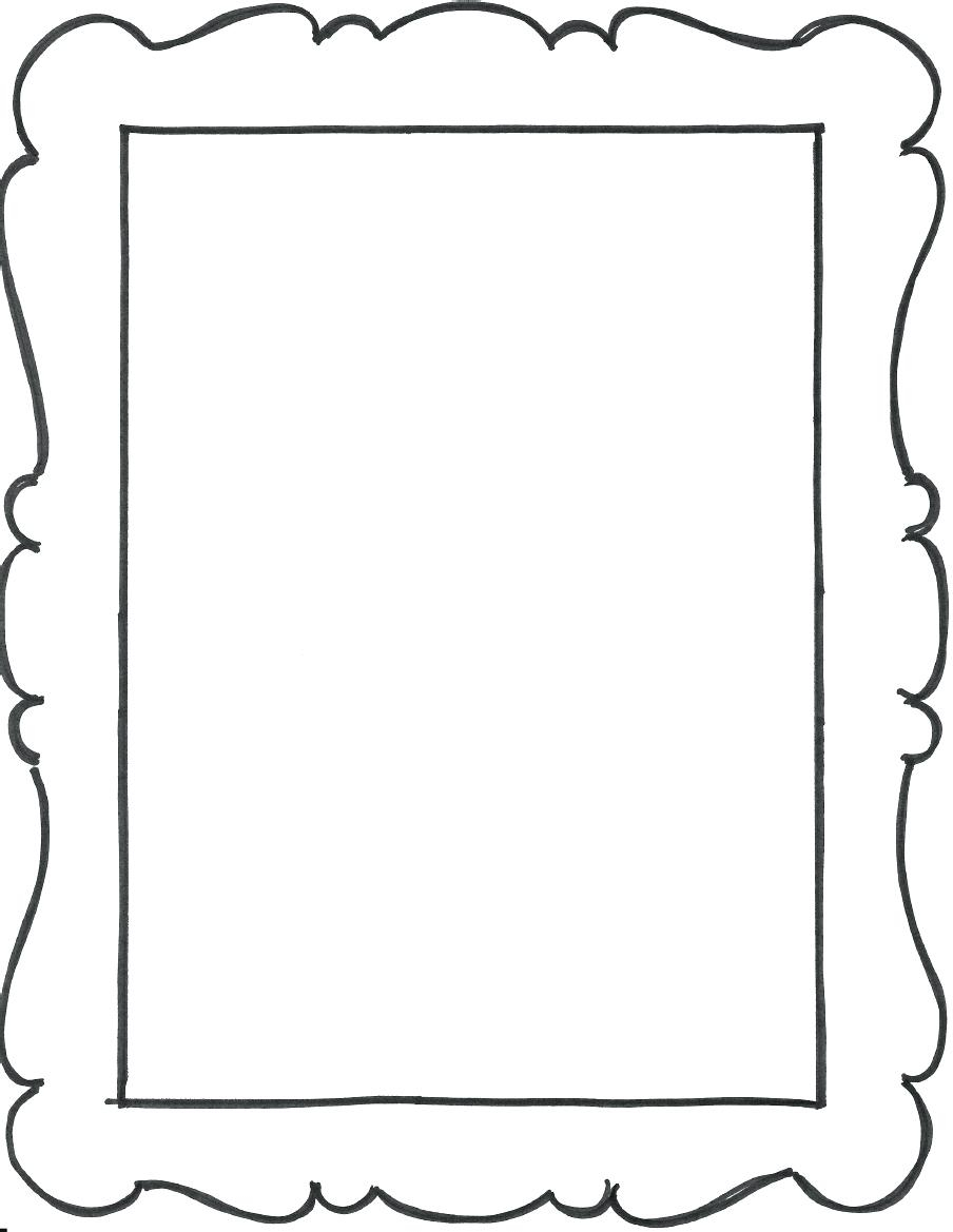 Free Printable Picture Frames - Picture Frame Ideas - Free Printable Photo Frames