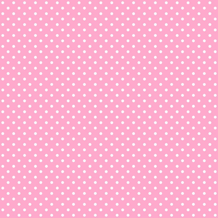 Free Printable Pink Polka Dot Paper