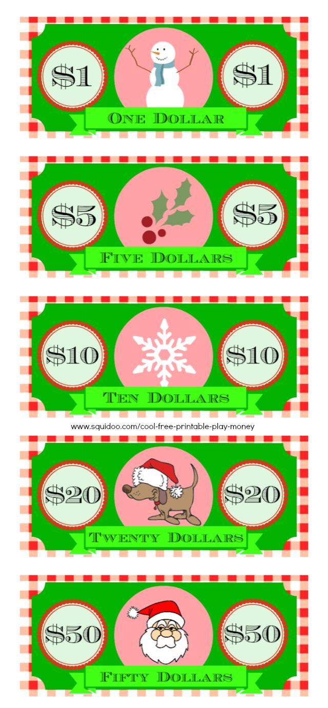 Free Printable Play Money Kids Will Love - Free Printable Christmas Plays Church