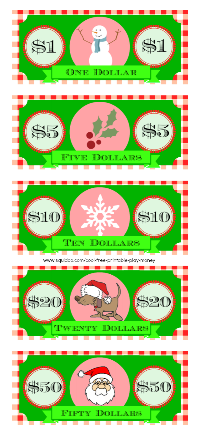 Free Printable Fake Money That Looks Real