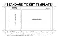 Free Printable Raffle Tickets