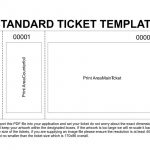 Free Printable Raffle Tickets Template | Template | Ticket Template   Free Printable Raffle Tickets With Stubs