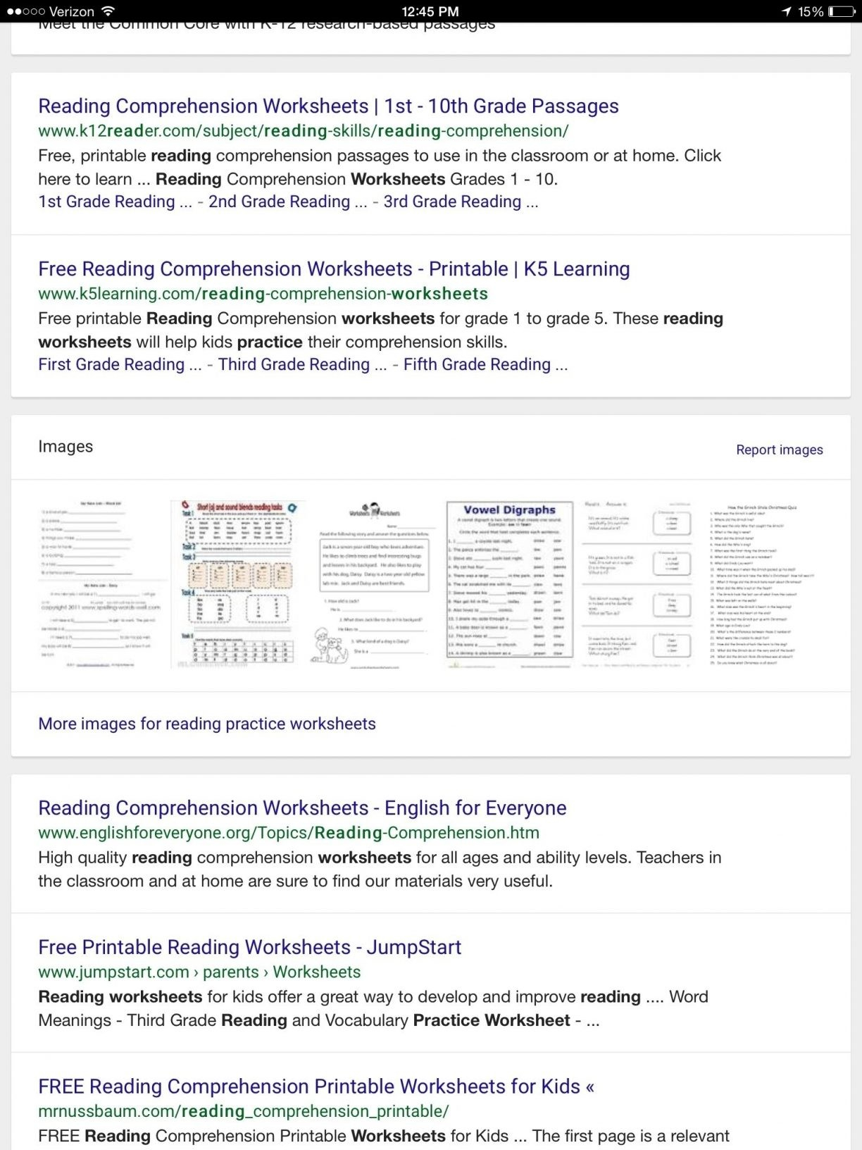 Free Printable Reading Comprehension Worksheets Grade 5 For 1 1224 - Free Printable Comprehension Worksheets For Grade 5