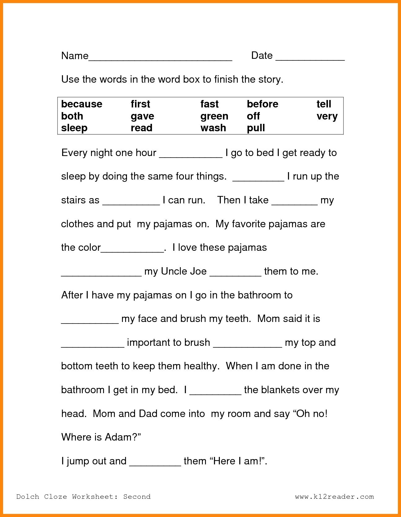 Free Printable Reading Worksheets For 2Nd Grade Lovely Reading - Free Printable Worksheets For 2Nd Grade