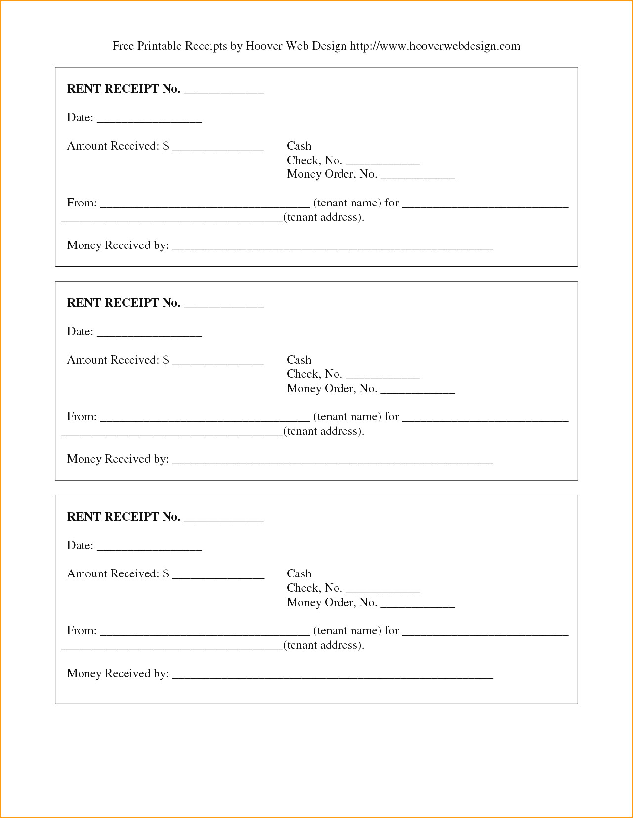 Free Printable Rent Receipts Filename   Colorium Laboratorium - Free Printable Rent Receipt