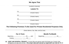 Free Printable Residential Lease Agreement Mi – 2.13.kaartenstemp.nl • – Blank Lease Agreement Free Printable