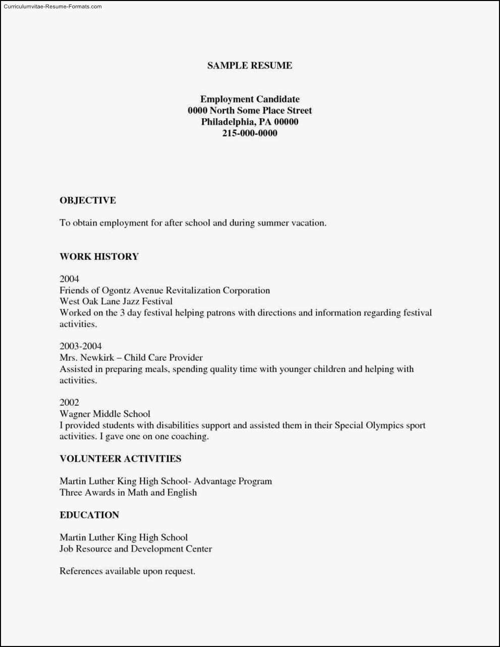 Free Printable Resume Templates | | Business Template And Resources - Free Printable Resume Templates