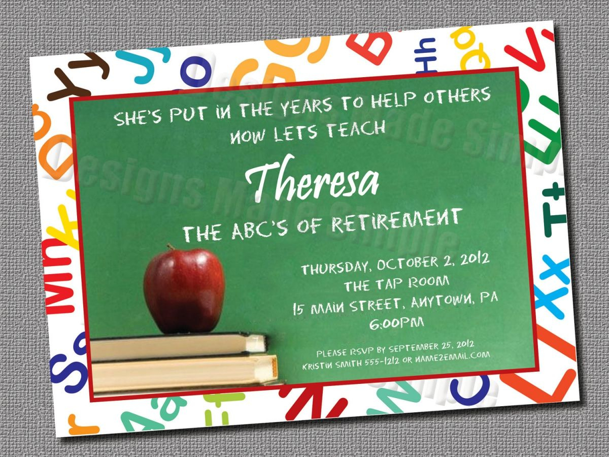 Free Printable Retirement Party Invitations Templates | Gift Ideas - Free Printable Retirement Party Invitations