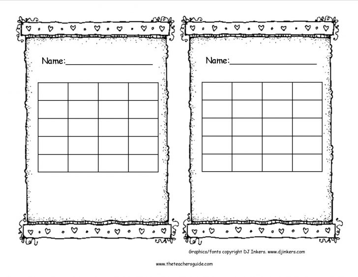 Free Printable Behavior Charts For Elementary Students