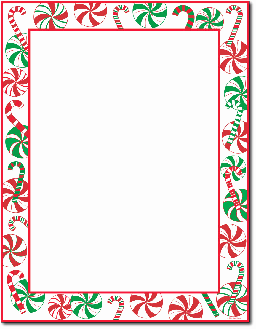 Free Printable Santa Letterhead Paper 7 Best Images Of Holiday - Free Printable Christmas Stationary Paper