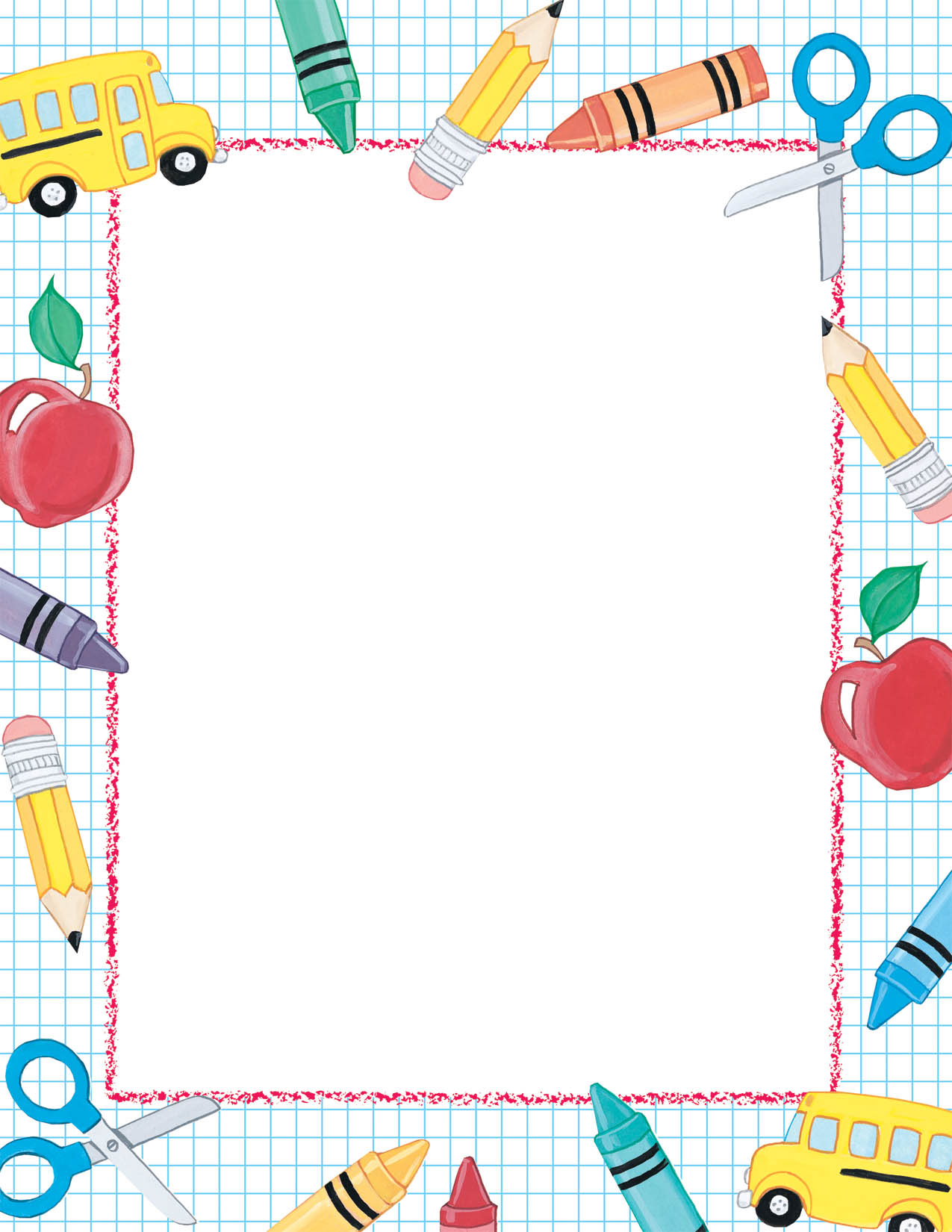 Free Printable School Stationery Borders | Download Them Or Print - Free Printable School Stationery Borders