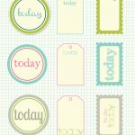 Free Printable Scrapbook Cutouts | Printable For All Topics   Free Printable Scrapbook Pages