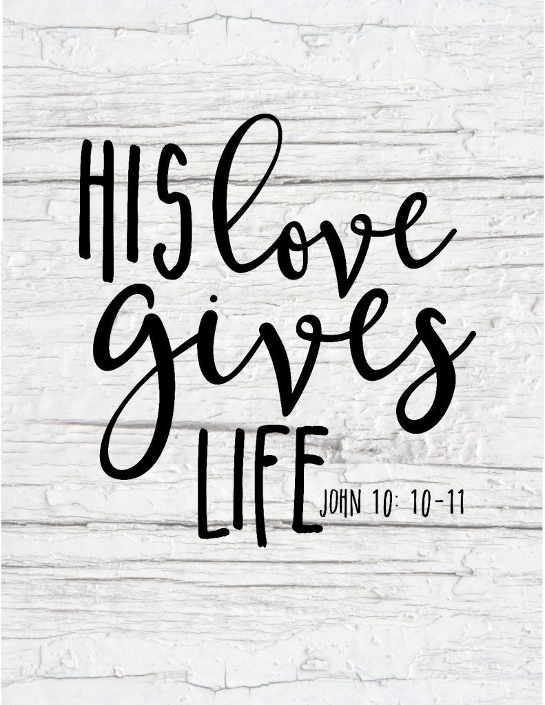 Free Printable Scripture Art - Hunt And Host - Free Printable Bible Verses To Frame