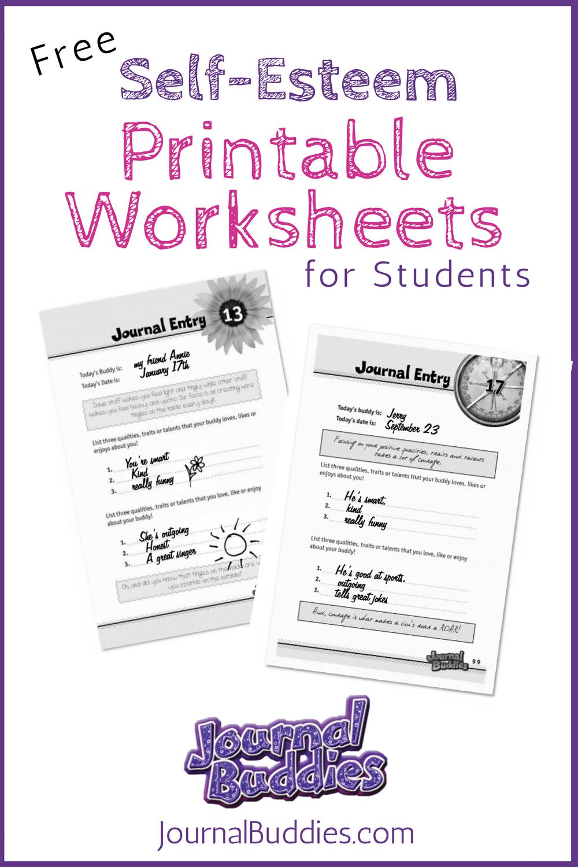 Free Printable Self Esteem Worksheet For Kids   Creative Teaching - Free Printable Self Esteem Bingo