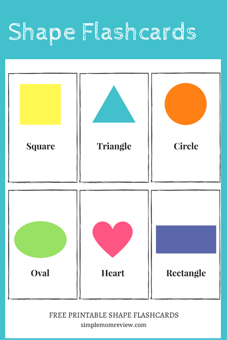 Free Printable: Shapes - Simple Mom Review - Free Printable Shapes