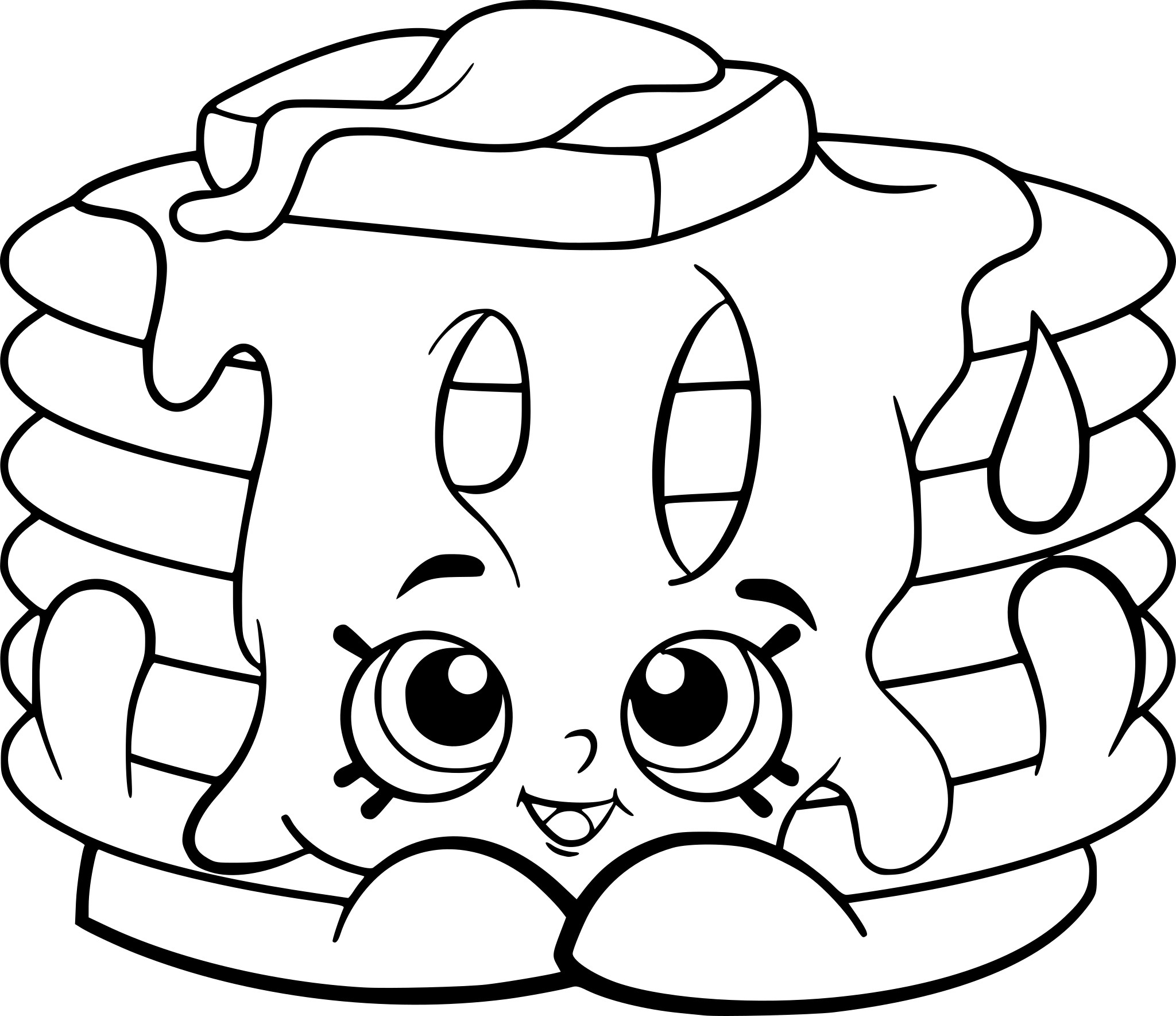 Free Printable Shopkins Coloring Pages - Coloring Pages For Kids - Shopkins Coloring Pages Free Printable
