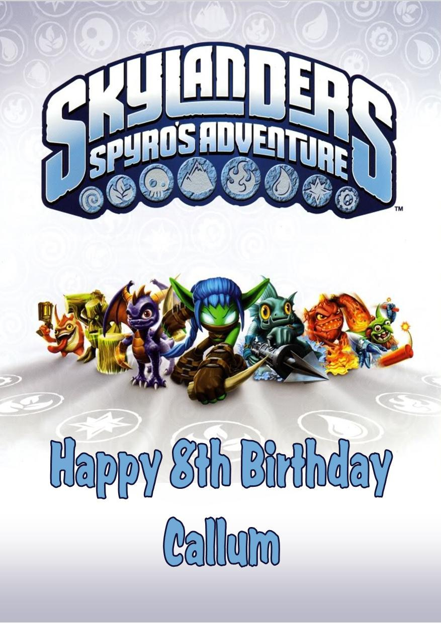 Free Printable Skylander Invitations – Ezzy - Free Printable Skylander Invitations