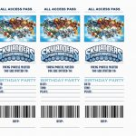Free Printable Skylanders Birthday Invitations | Birthdaybuzz   Free Printable Skylander Invitations