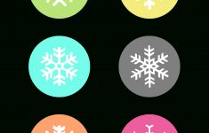 Free Printable Snowflake Gift Tags – The Cottage Market – Free Printable Gift Name Tags