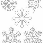 Free Printable Snowflake Templates – Large & Small Stencil Patterns   Free Printable Snowflake Patterns