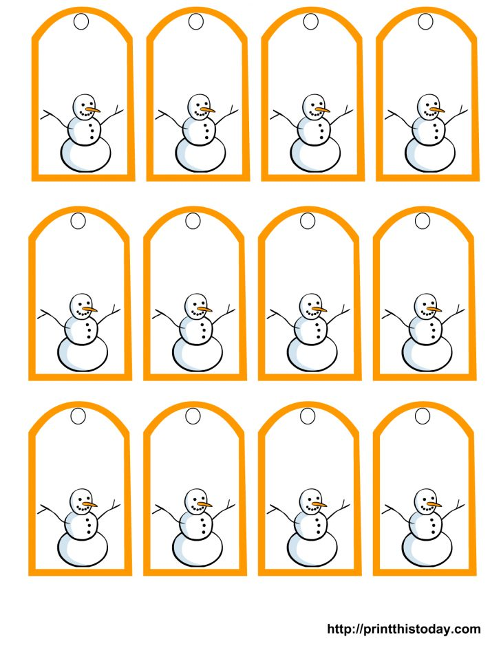 Free Printable To From Gift Tags