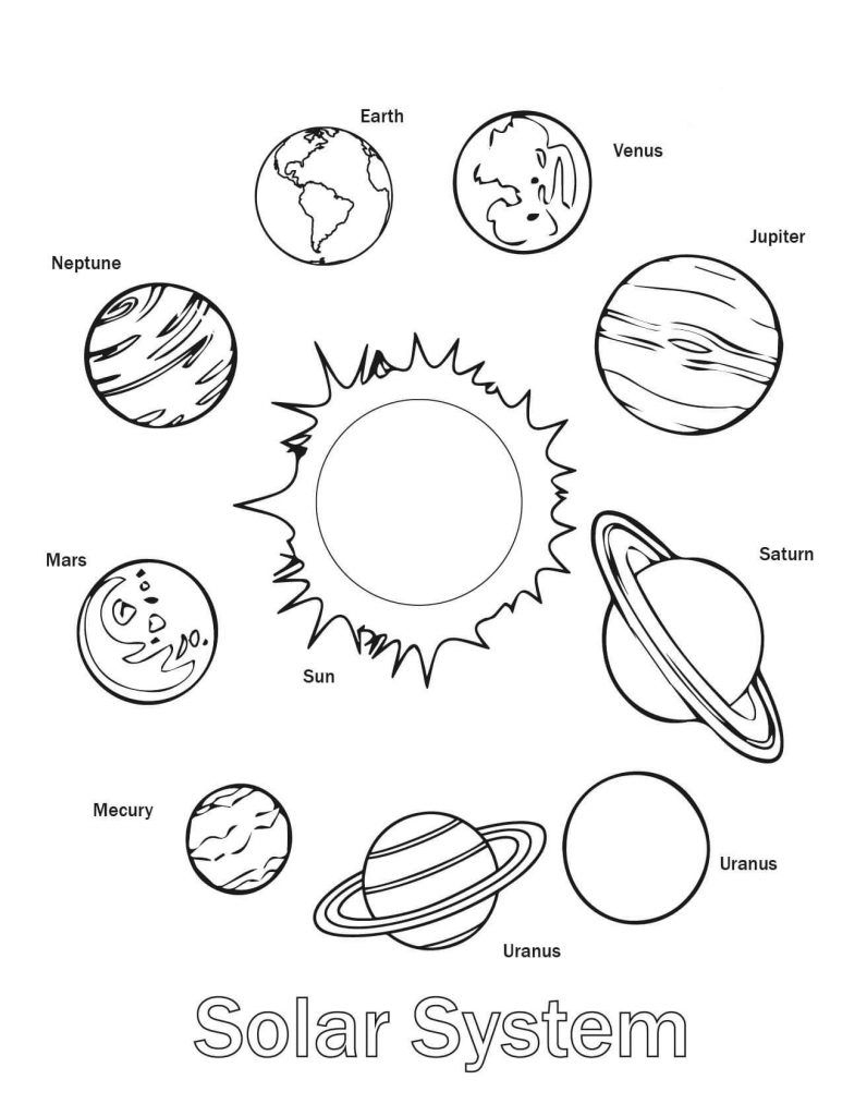 Free Printable Solar System Coloring Pages For Kids   Coloring Pages - Free Printable Solar System Worksheets