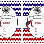 Free Printable Spiderman Birthday Invitations • Free Printables   Free Printable Spiderman Pictures