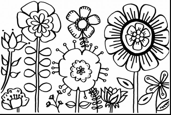 Spring Coloring Sheets Free Printable