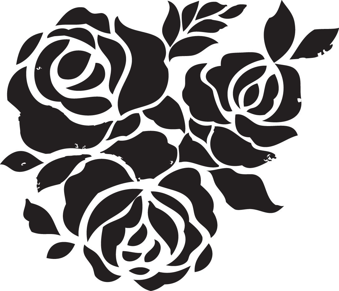 Free Printable Stencils For Painting T Shirt   Stencils Designs Free - Free Printable Flower Stencils