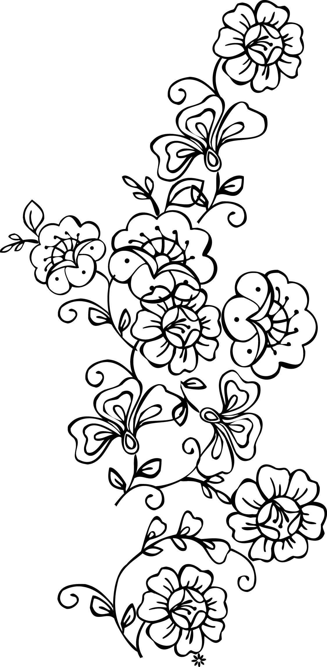Free Printable Stencils Of Trees | Stencils Designs Free Printable - Free Printable Wall Stencils For Painting
