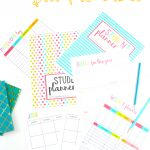 Free Printable Student Planner {46 Pages}   Sarah Titus   Free Printable Student Planner