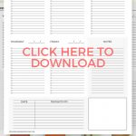 Free Printable Student Planner For Students Of All Ages | Best Of   Free Printable Student Planner
