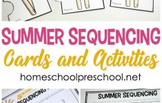 Free Printable Summer Sequencing Cards For Preschoolers | Free - Free Printable Sequencing Cards For Preschool