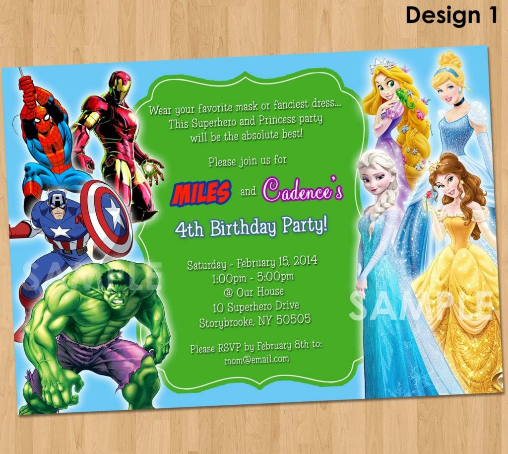 Free Printable Superhero Birthday Invitations – Bagvania Free - Free Printable Superhero Birthday Invitation Templates