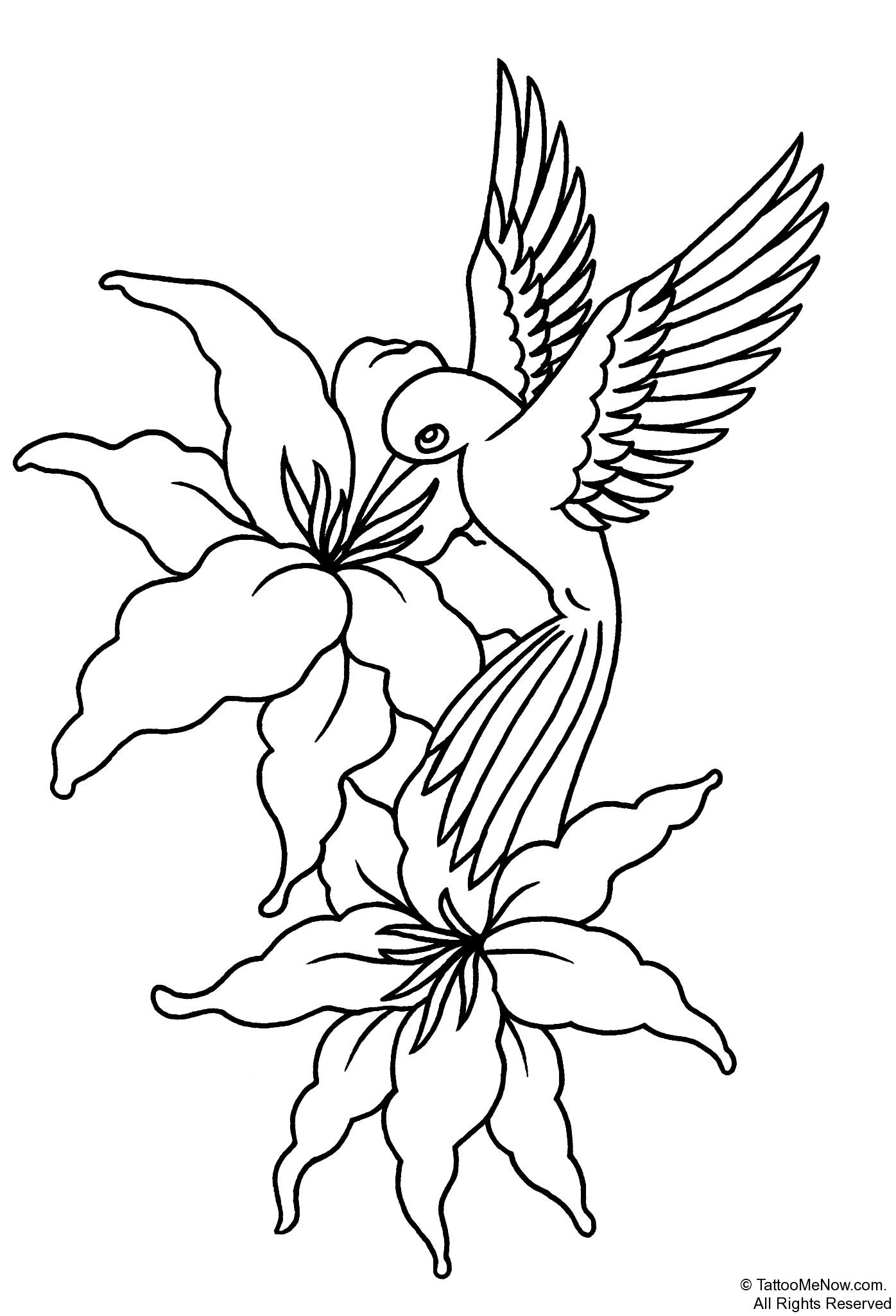Free Printable Tattoo Stencils | Your Free Tattoo Designs & Stencils - Free Printable Flower Stencils