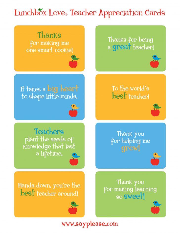 Free Printable Teacher Appreciation Cards To Color