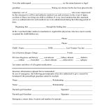 Free Printable Temporary Guardianship Forms | Forms   Free Printable Child Custody Papers