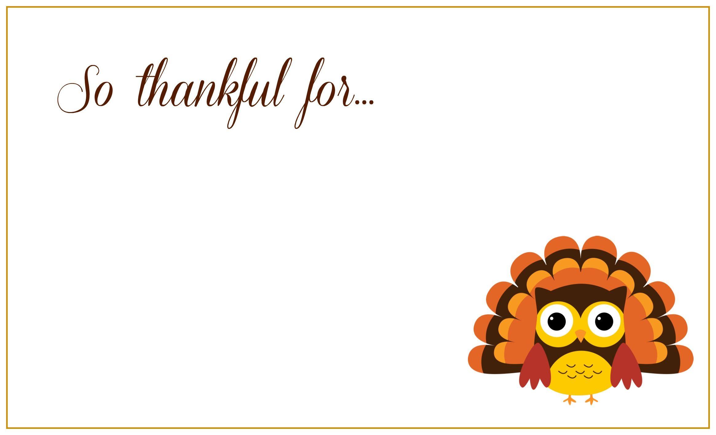 Free Printable Thanksgiving Greeting Cards | Thanksgiving Day - Happy Thanksgiving Cards Free Printable