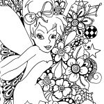 Free Printable Tinkerbell Coloring Pages For Kids | Art!! | Coloring   Tinkerbell Coloring Pages Printable Free