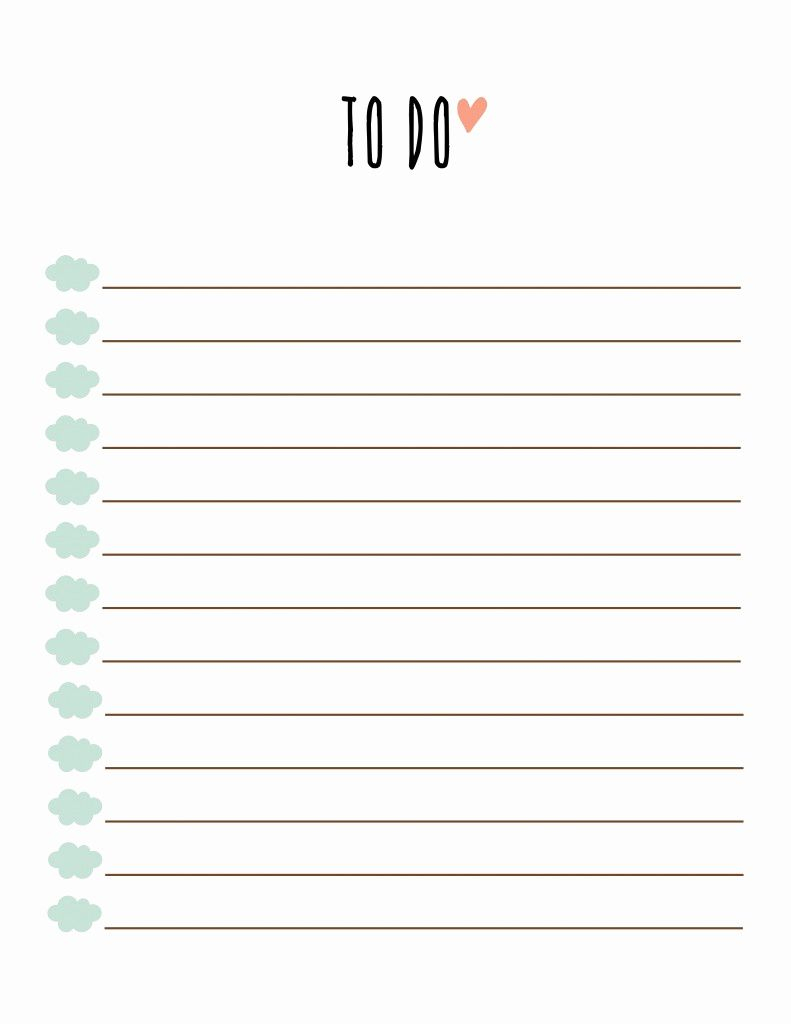 Free Printable To Do List. Free Printable To Do Lists Made Peachy - Free Printable To Do List Pdf