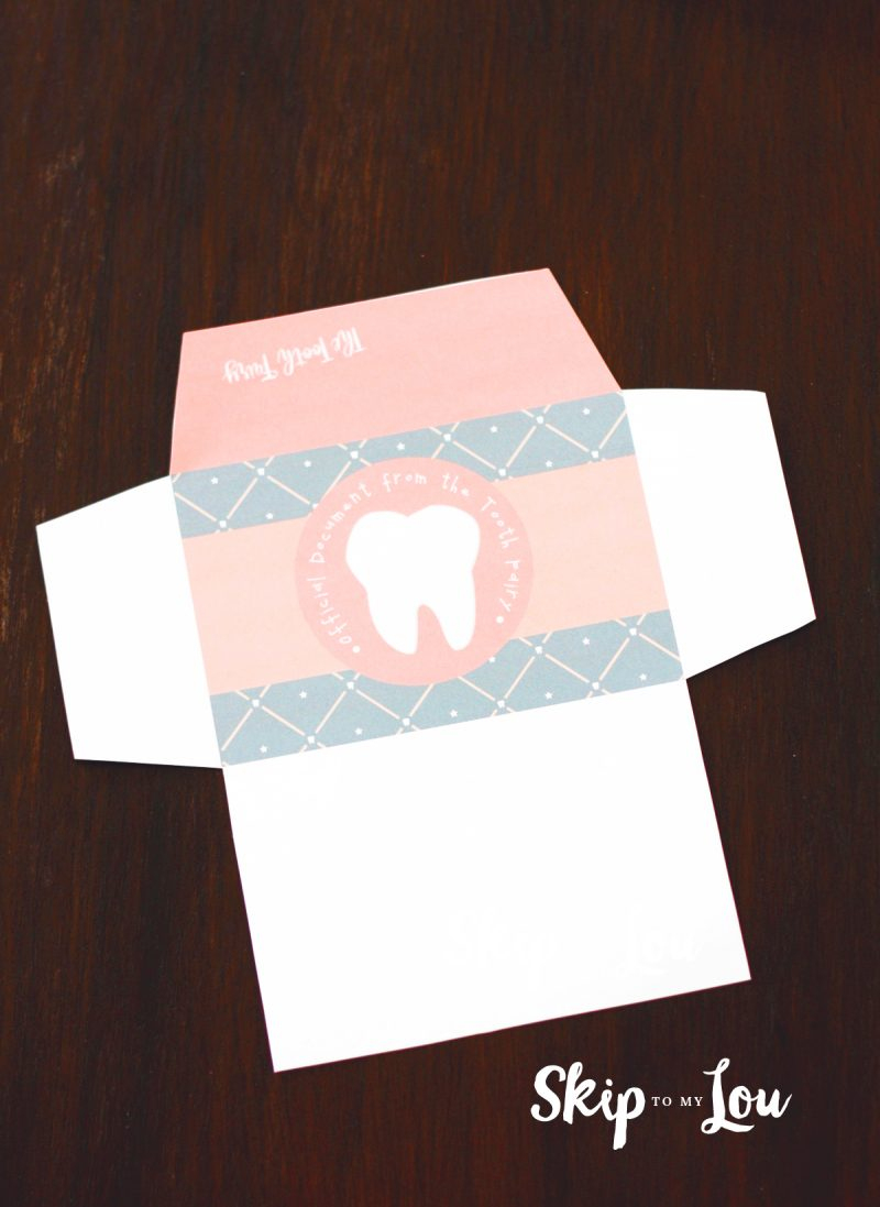 Free Printable Tooth Fairy Letter With Matching Enevelopes | Skip To - Tooth Fairy Stationery Free Printable