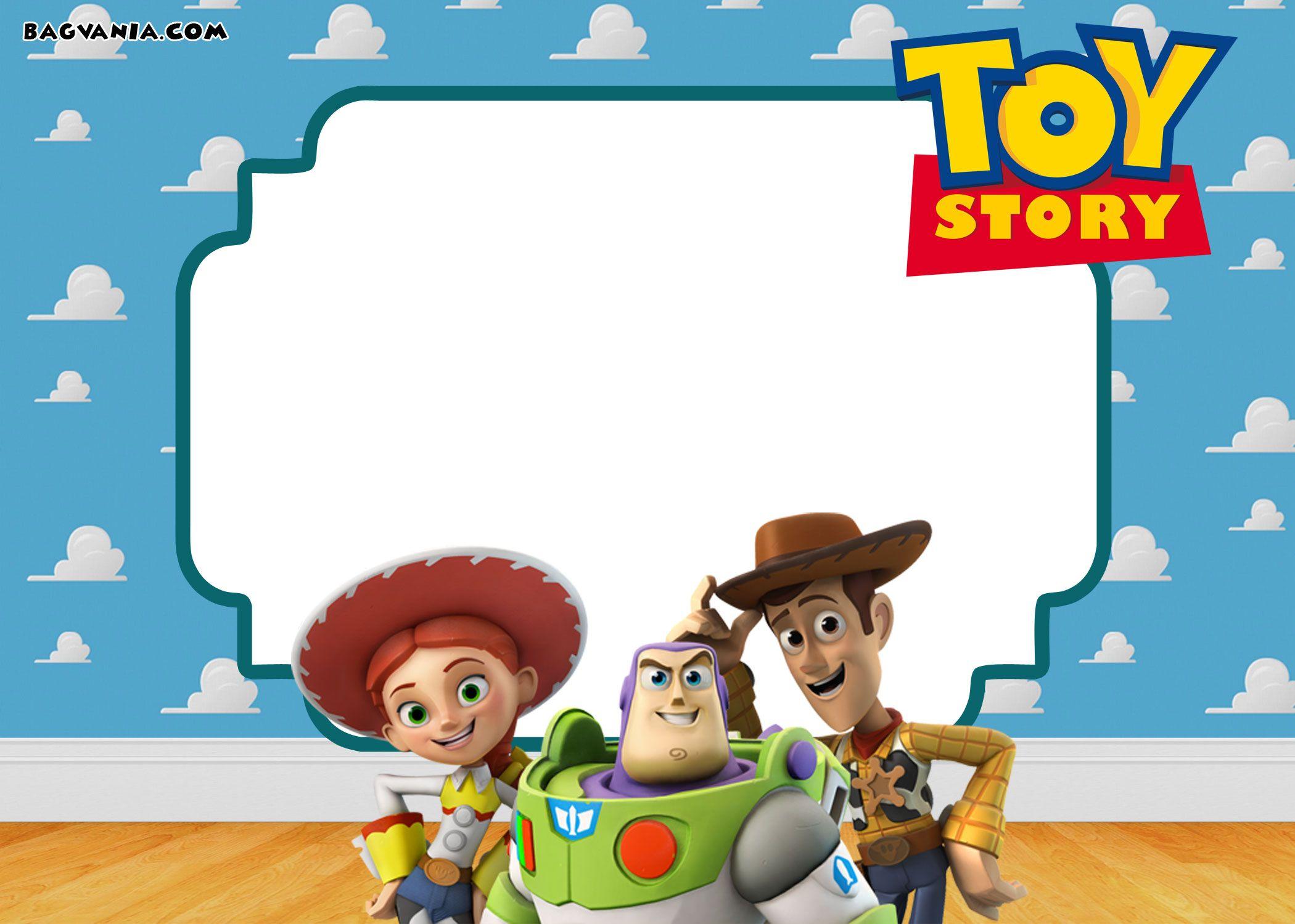 Free Printable Toy Story 3 Birthday Invitations | Free Printable - Toy Story Birthday Card Printable Free