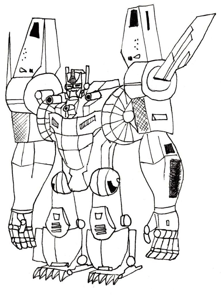 Free Printable Transformers Coloring Pages For Kids | Transformer - Transformers 4 Coloring Pages Free Printable